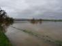 Hochwasser der Weser in diesen Tagen
