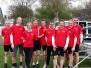 Mastersruderer auf Frühjahrsregatta des RHTC Rheine