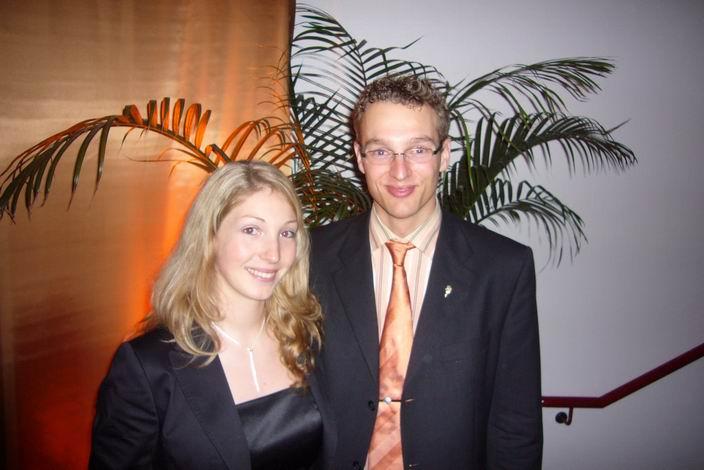 Jan - Martin und Sonja bei der Sportgala